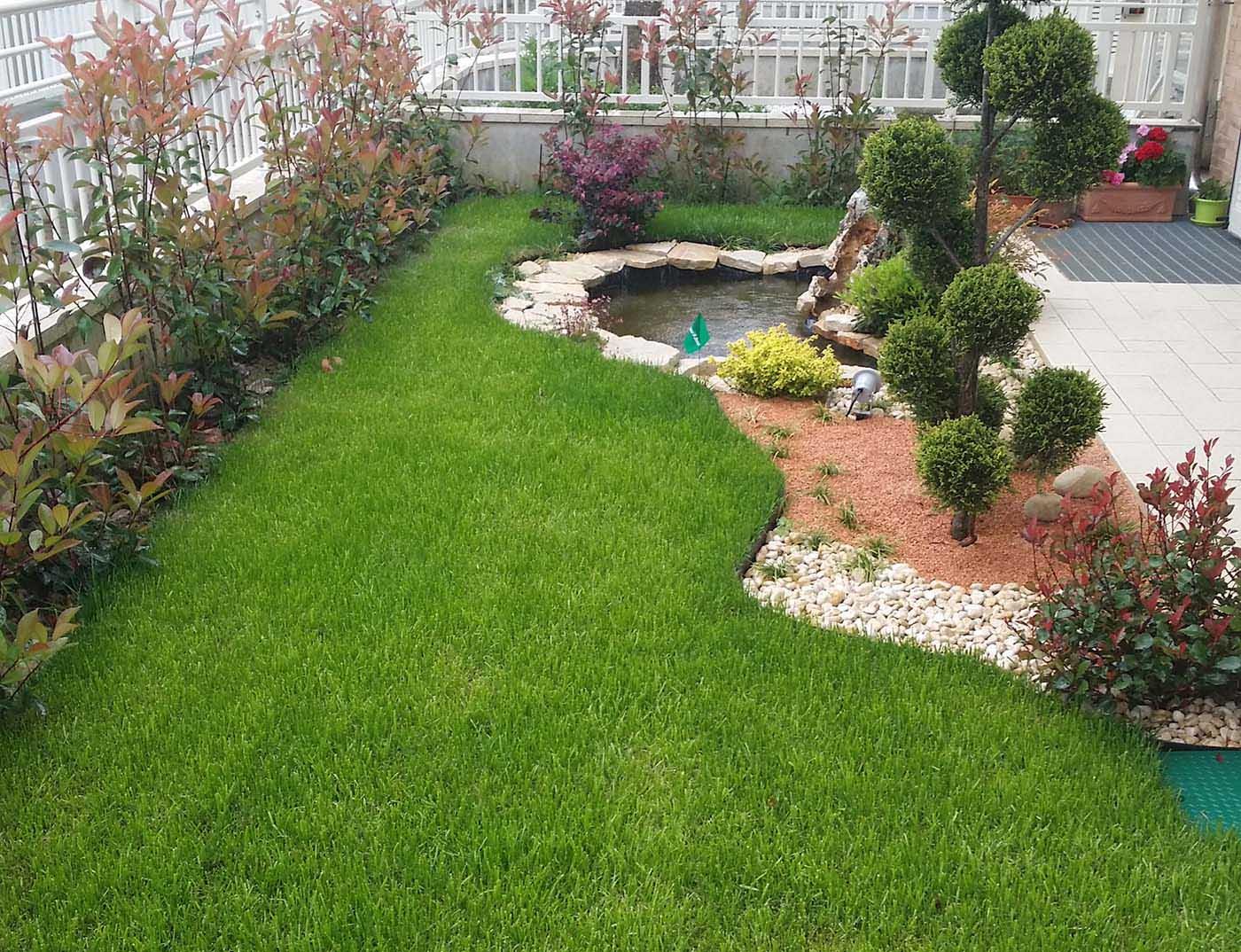 Aiuole castellarano 2 giardiniere modena green creations for Progettazione aiuole